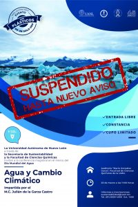 Cartel Conferencia Agua 2020 suspendido-01